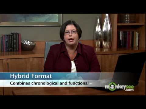 Resume Formatting - Employment History