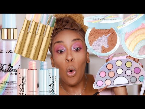 Hmmm...Too Faced Life's a Festival Collection Review | Jackie Aina