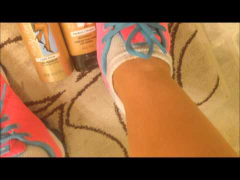 Airbrush Tan Your Legs At Home:  How To Airbrush Tan your Legs