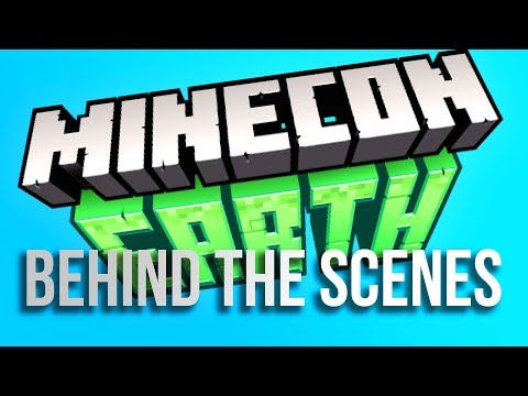 Behind the Scenes of Minecon Earth 2018!!!