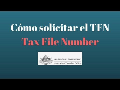 Cómo solicitar el TFN  GRATUITO -Tax File Number - AUSTRALIA Queremos Viajar