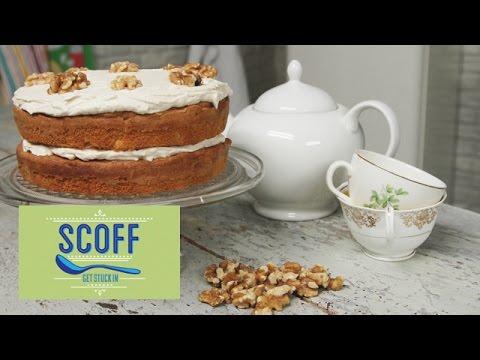 Coffee & Walnut Cake   Keep Calm And Bake