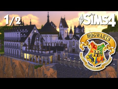 HOGWARTS - Harry Potter (PT 1)   The Sims 4 Speed Build