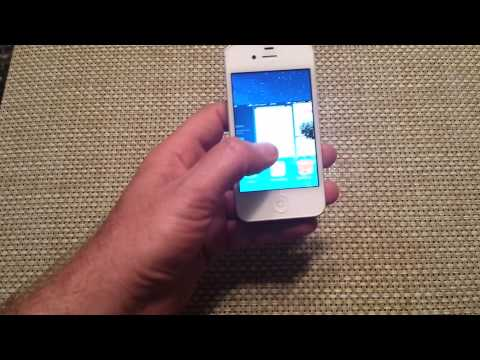 IOS 7 How to force close one or multiple running background apps Iphone 5 5s 4 4s 5c ios7 iPod