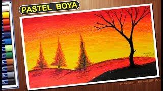 Kolay Gün Batımı çizimi Kolay çizim Easy Drawing Videos 9tubetv