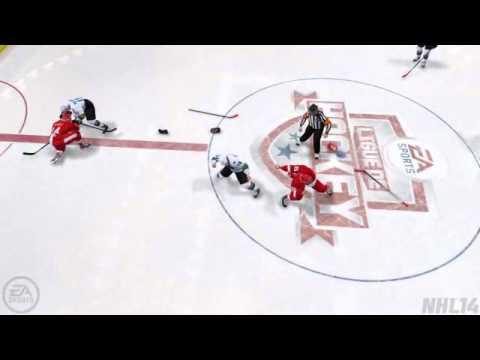 OMG: A very strange fight in NHL 14