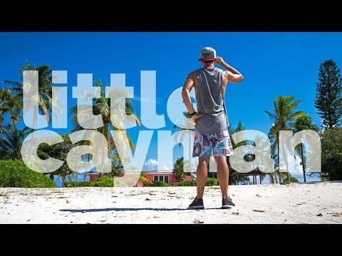 Exploring Little Cayman for the first time