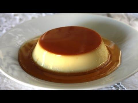Flan creme caramel (custard pudding / bánh flan)