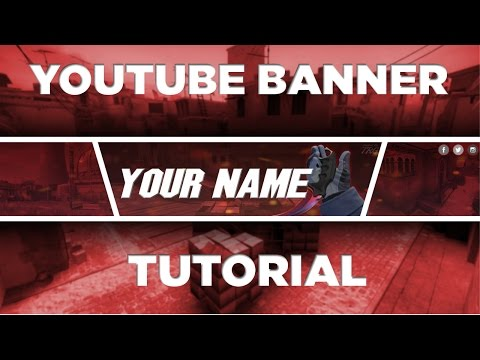 How To Make An AWESOME YouTube Banner 100% Free and simple! - Gimp Tutorial