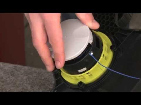 How to change Ryobi Auto Feed Spool