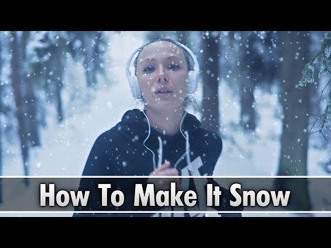 Vegas Pro 16: How To Make It Snow - Tutorial #401