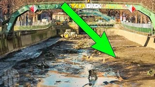 The CRAZIEST Discoveries Found in Drained Waters