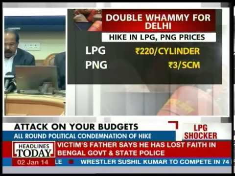 What is the current LPG price in different metros?