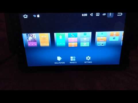 Touchscreen calibration and touch button learning for PX5 octa-core Android head units