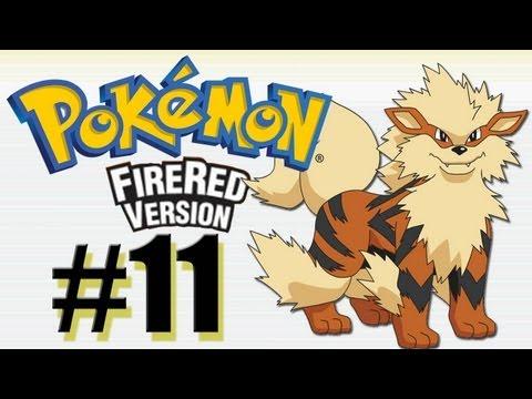 Pokemon FireRed parte 11 - Arcanine, PokeRap no Silph Co. + Surpresa (gameplay br)