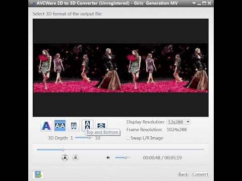 2D to 3D for TV: Convert 2D Videos to 3D Format with 3D Video Converter