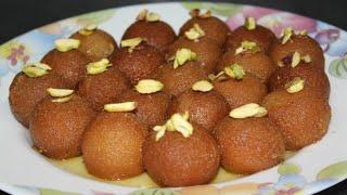 Gulab jamun with dry milk pwd