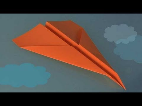 How to Make a paper Plane, origami