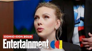 'Black Widow' Stars Scarlett Johansson, David Harbour & Cast LIVE | SDCC 2019 | Entertainment Weekly