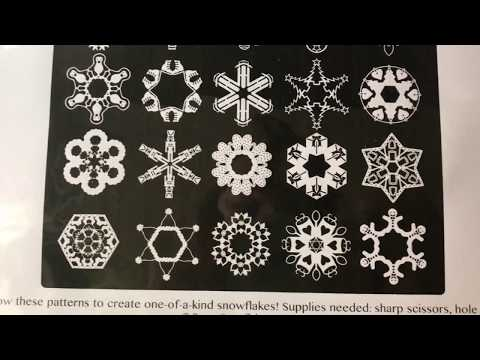 25 Days of Snowflakes - [DIY] - Print-N-Cut - Paper Snowflake Patterns