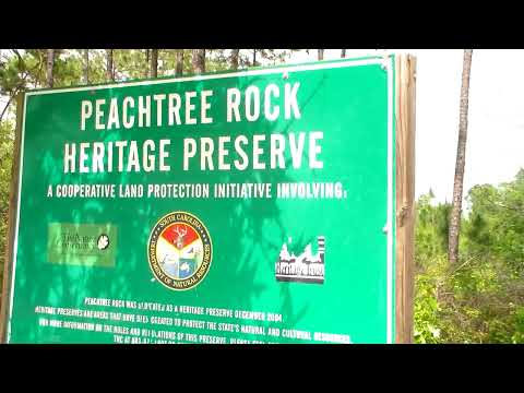 Peachtree Rock Nature Preserve Swansea South Carolina