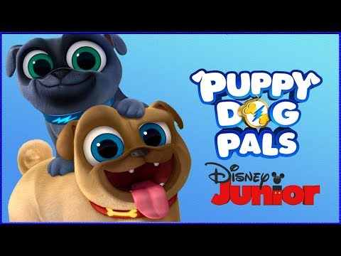 Puppy Dog Pals Pups On A Mission - Puppy Care, Dress Up  - Disney Junior App For Kids