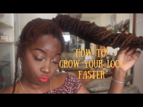 How To GROW LOCS Long, Thick & Healthy FAST! I ESSENCEOFSHAY