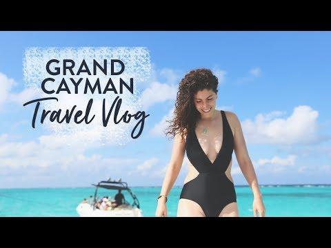 TRAVEL VLOG | GRAND CAYMAN TRAVEL DIARY