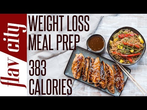 Healthy Low Calorie Chicken Stir Fry - Meal Prep Recipes To Lose Weight