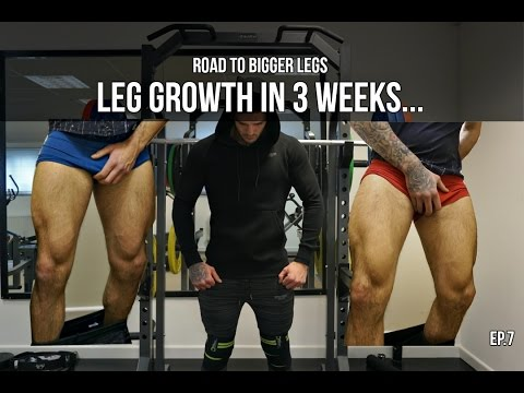How To Get Bigger Legs | Real Results In 3 Weeks | Body Transformation
