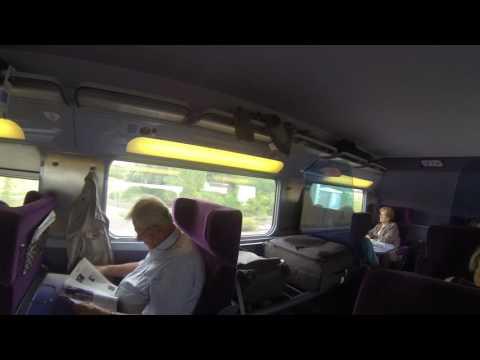 On Board The Cannes- Paris TGV Train, 15 Sep 2016  #2  ຂີ່ຣົຖໄຟດ່ວນຂື້ນກຣຸງປາຣີສ໌ຄືນ