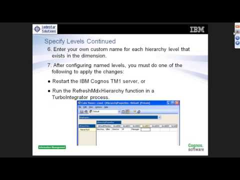 What You Need to Know for Integrating IBM Cognos TM1 and BI