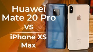 Huawei Mate 20 Pro Vs Apple Iphone Xs Max: First Look