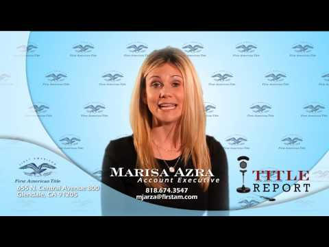 Marisa Azra - Title Report - First American Title