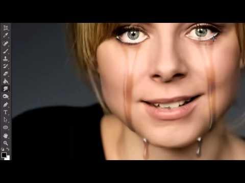 PHOTOSHOP EFFECT CRY LAGRIMAS
