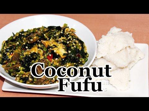Coconut Fufu   All Nigerian Recipes