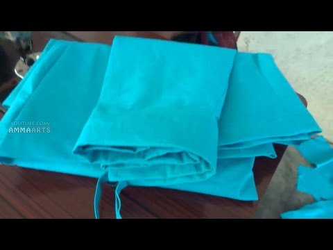 Saree Petticoat Stitching Process By Amma Arts