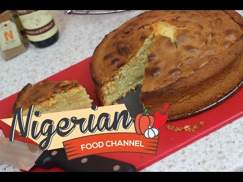 HOW TO MAKE A POUND CAKE 😋👌| Nigerian Food Channel