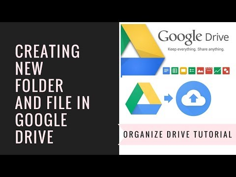 Creating a New folder and file in Google Drive| Bangla Tutorial|