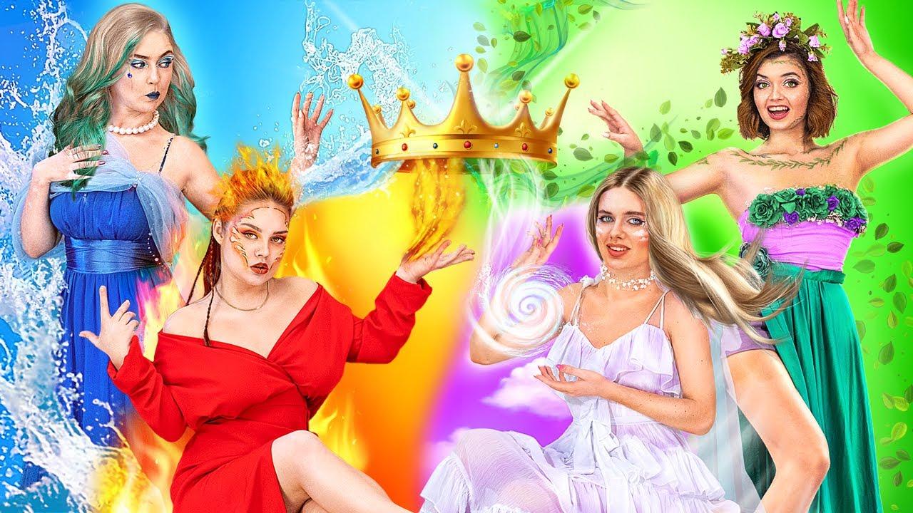 Download Fire Girl, Water Girl, Air Girl, Earth Girl / Miss Element Title! MP3 Gratis