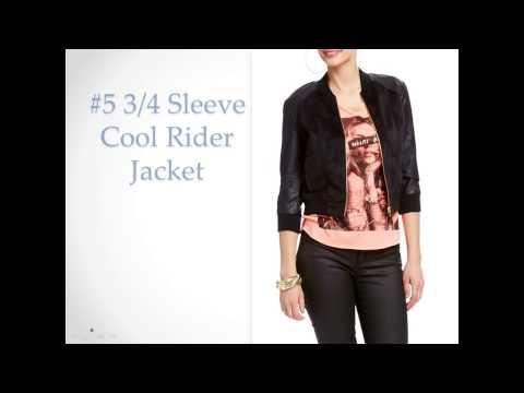 Top 10 Best Leather Jackets for Women - Classy Women's Moto Jacket