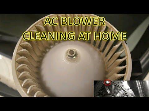 AC Blower / Fan cleaning for car at home Maruti Suzuki WagonR