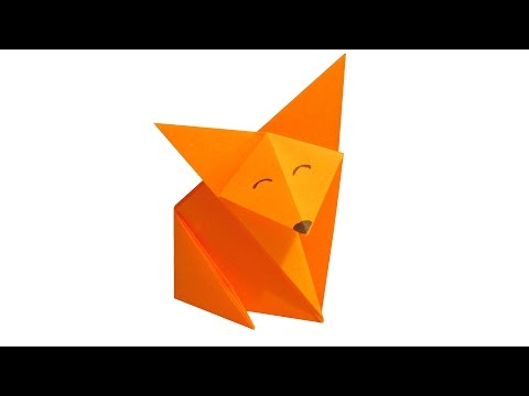 How to make Origami Fox