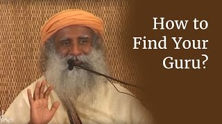 How to Find Your Guru?