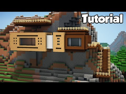 Minecraft: How to Build a Modern Mountain House - Tutorial