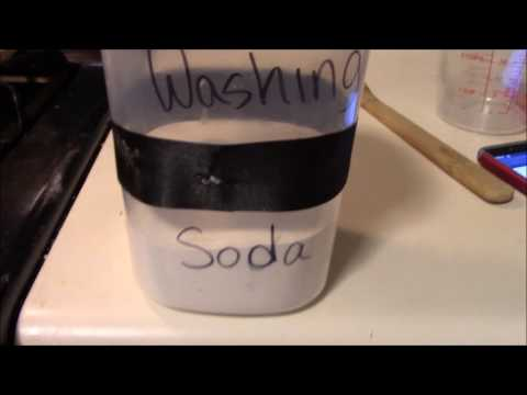 Home Made Washing Soda