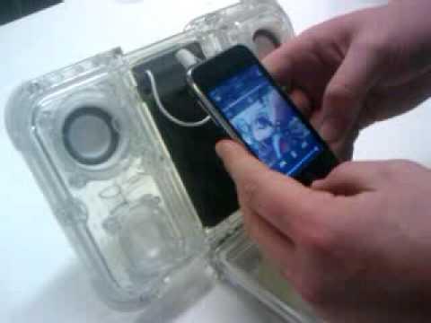 How to modify the waterproof iPod dock