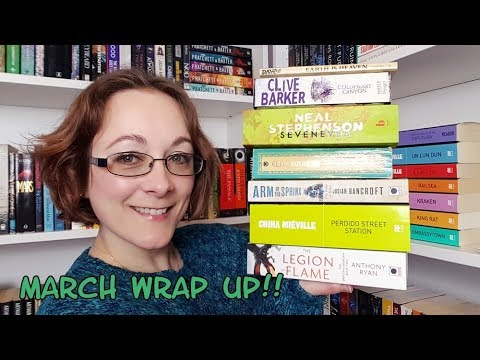 March 2018 Reading Wrap Up!