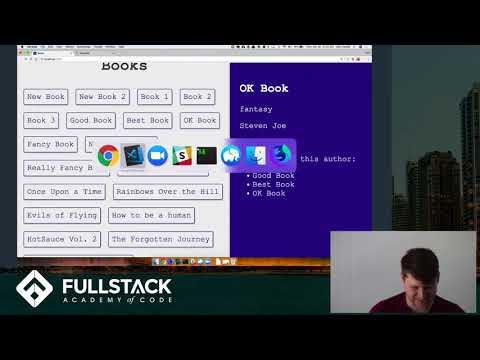 Stackathon Presentation: Book List