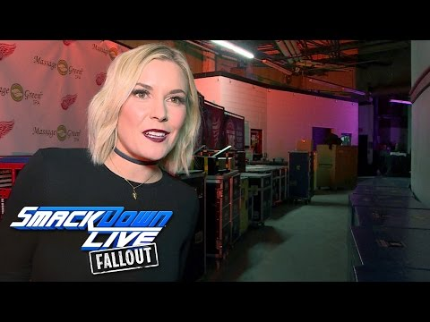 Renee Young has no remorse after smacking The Miz: SmackDown LIVE Fallout, Dec. 20, 2016